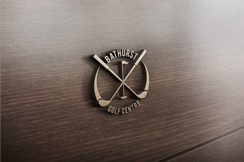 Logo Design by Private User - Entry No. 24 in the Logo Design Contest Inspiring Logo Design for Bathurst Golf Centre.