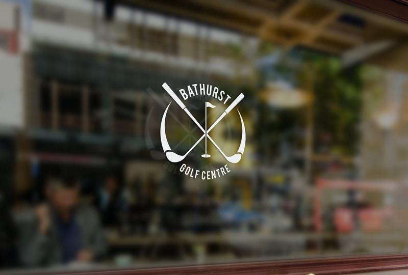 Logo Design by Private User - Entry No. 27 in the Logo Design Contest Inspiring Logo Design for Bathurst Golf Centre.