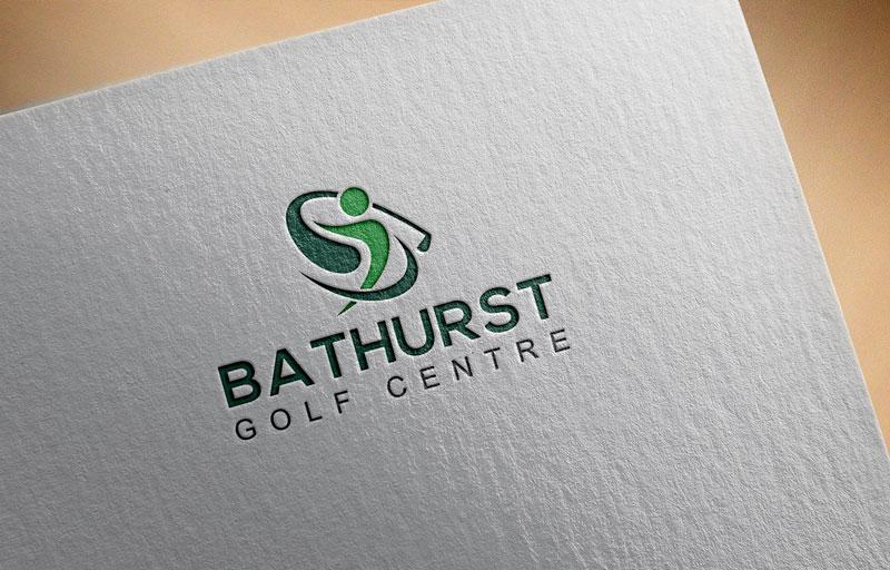 Logo Design by Private User - Entry No. 28 in the Logo Design Contest Inspiring Logo Design for Bathurst Golf Centre.