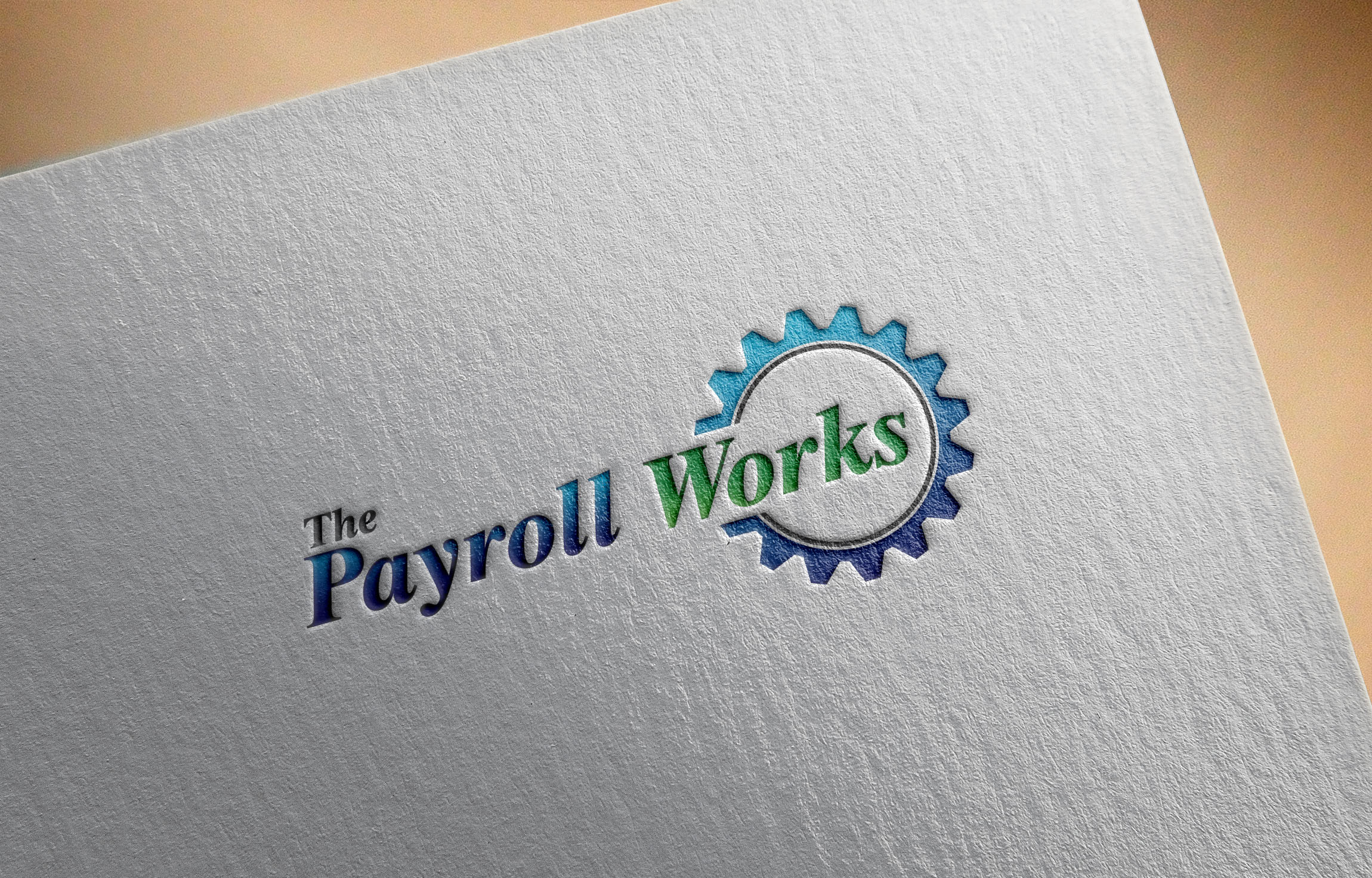 Logo Design by Raymond Garcia - Entry No. 55 in the Logo Design Contest Captivating Logo Design for The Payroll Works.