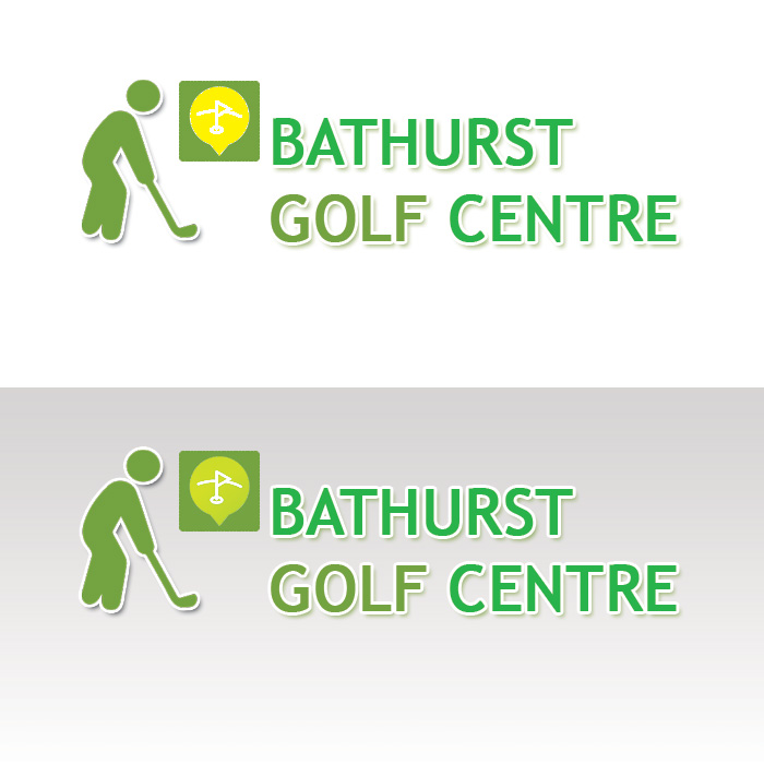 Logo Design by Sandip Kumar Pandey - Entry No. 31 in the Logo Design Contest Inspiring Logo Design for Bathurst Golf Centre.