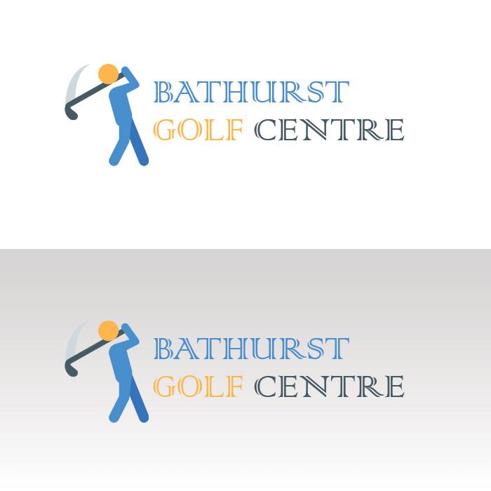 Logo Design by Sandip Kumar Pandey - Entry No. 33 in the Logo Design Contest Inspiring Logo Design for Bathurst Golf Centre.