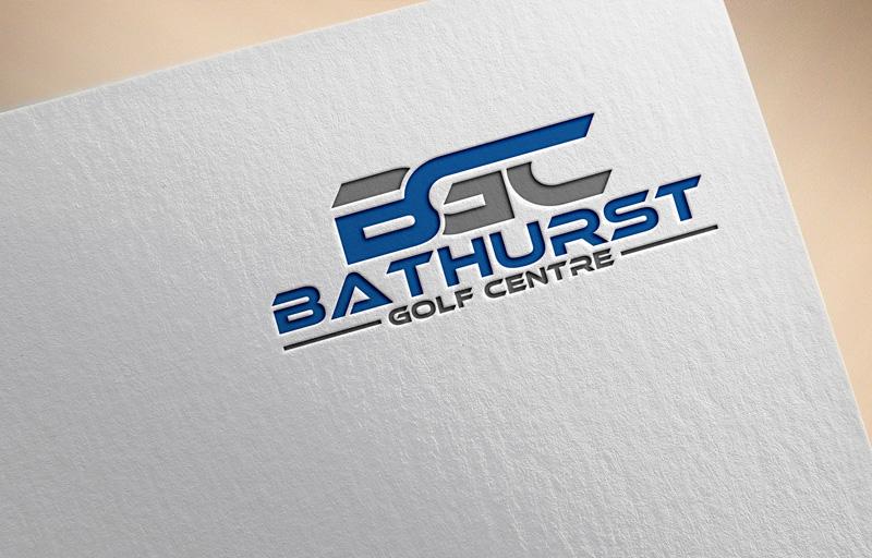 Logo Design by Private User - Entry No. 38 in the Logo Design Contest Inspiring Logo Design for Bathurst Golf Centre.