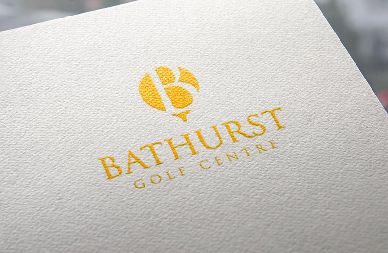 Logo Design by Private User - Entry No. 40 in the Logo Design Contest Inspiring Logo Design for Bathurst Golf Centre.