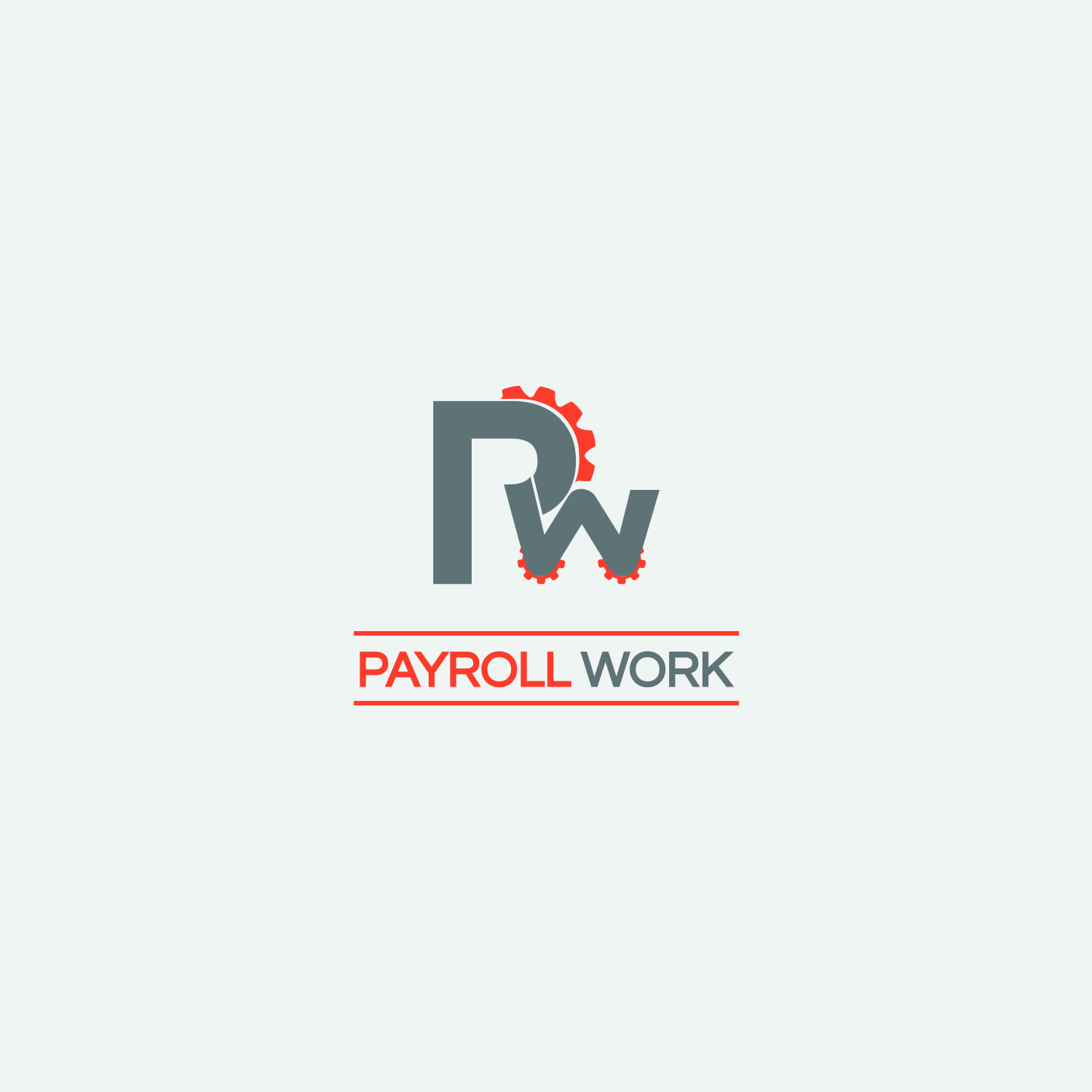 Logo Design by Umair ahmed Iqbal - Entry No. 64 in the Logo Design Contest Captivating Logo Design for The Payroll Works.