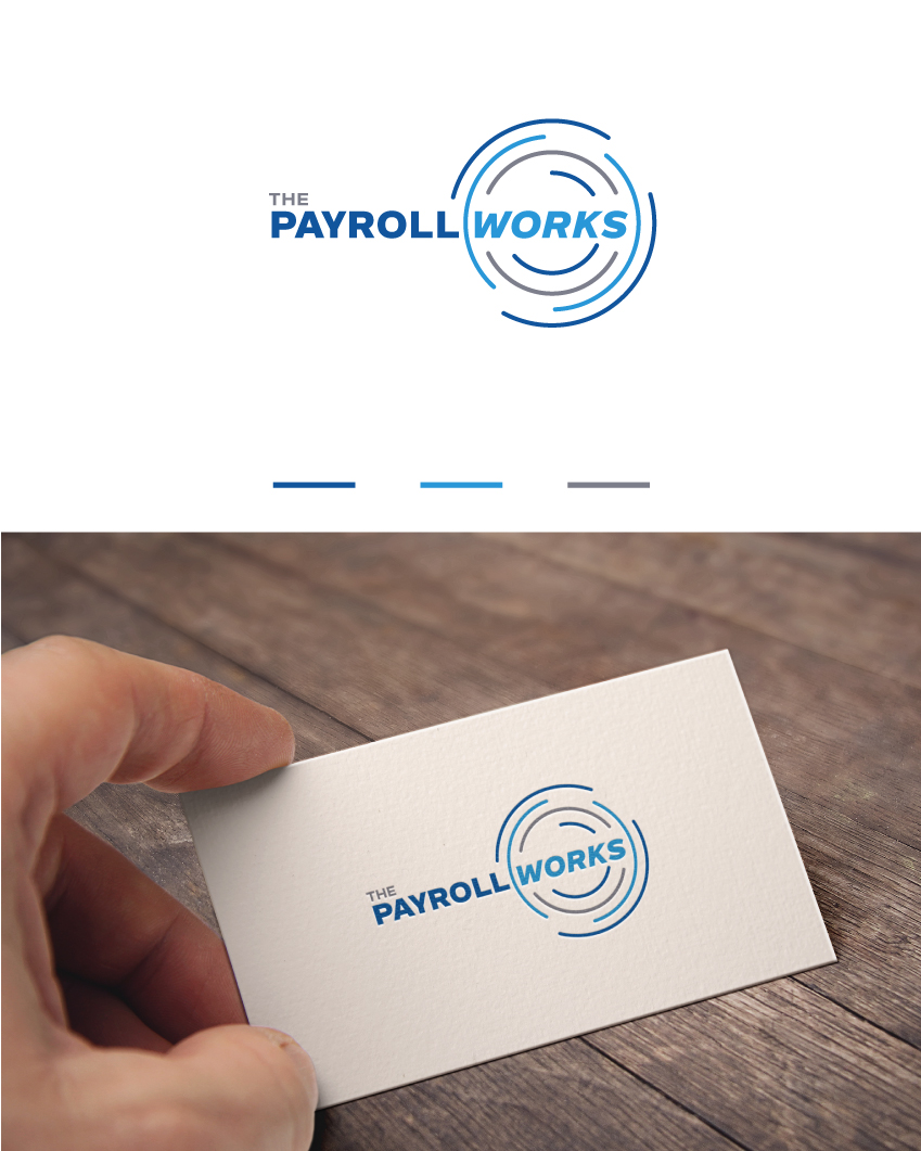 Logo Design by Tauhid Shaikh - Entry No. 70 in the Logo Design Contest Captivating Logo Design for The Payroll Works.