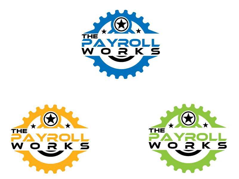 Logo Design by Private User - Entry No. 75 in the Logo Design Contest Captivating Logo Design for The Payroll Works.