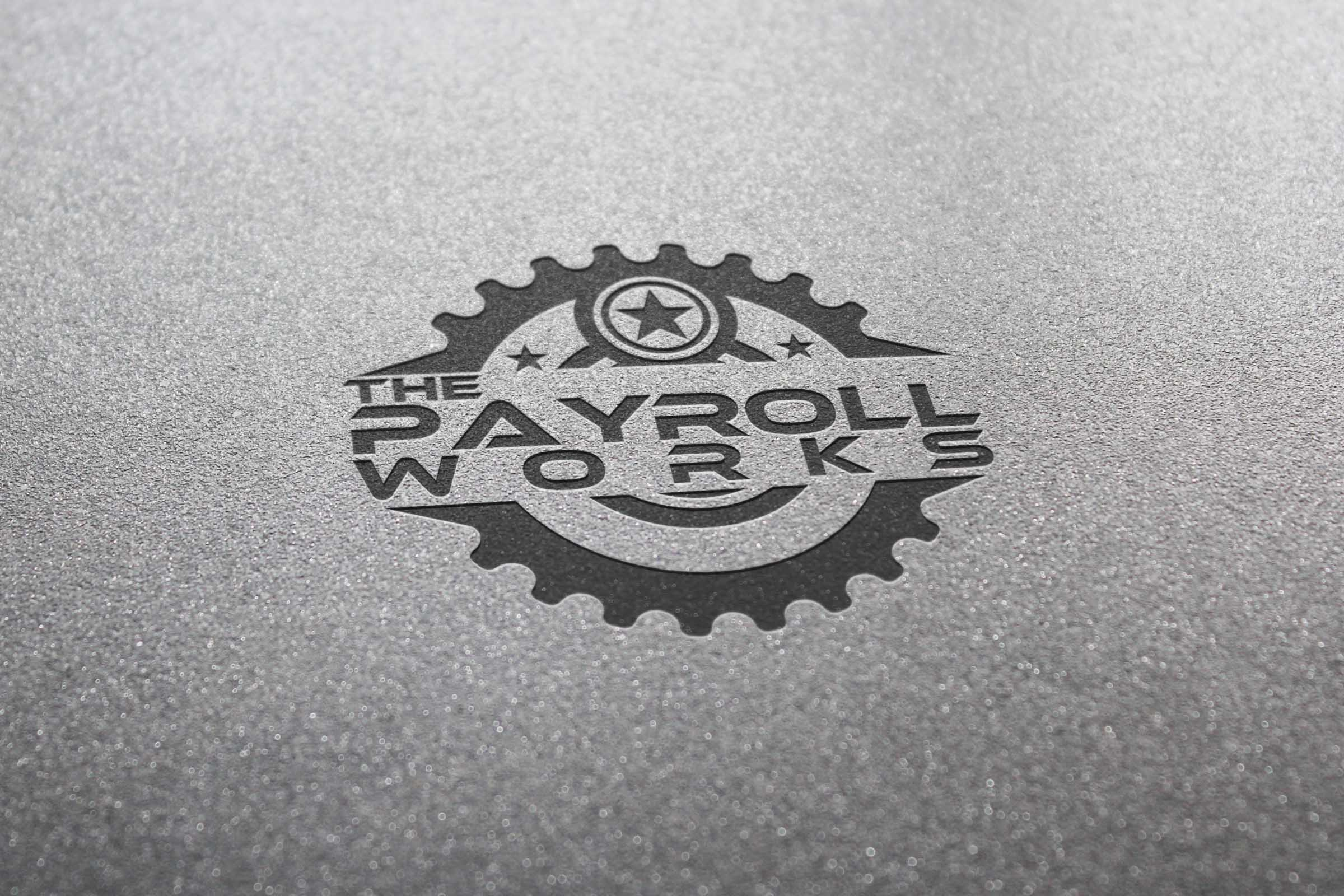Logo Design by Private User - Entry No. 77 in the Logo Design Contest Captivating Logo Design for The Payroll Works.