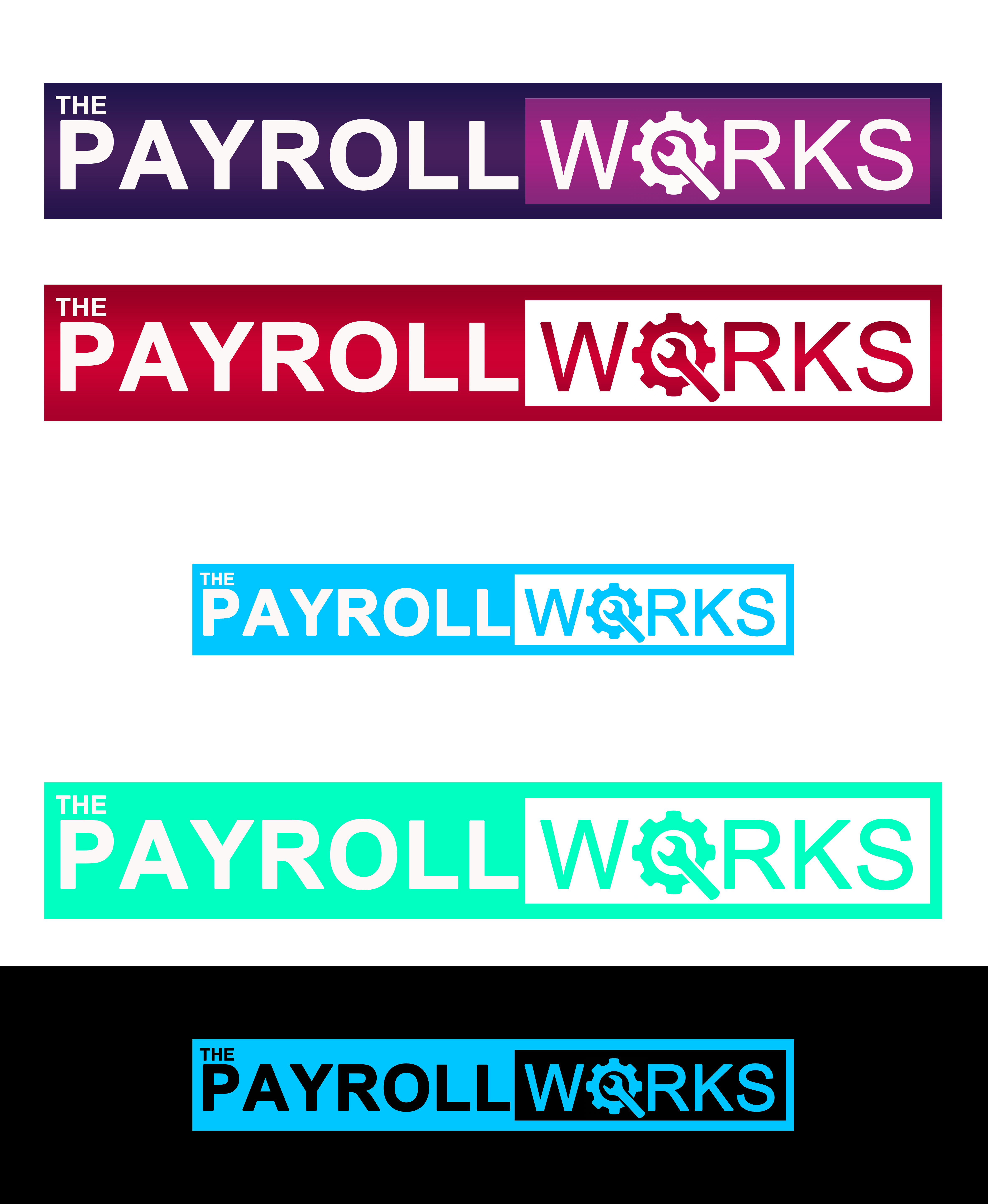 Logo Design by JSDESIGNGROUP - Entry No. 85 in the Logo Design Contest Captivating Logo Design for The Payroll Works.
