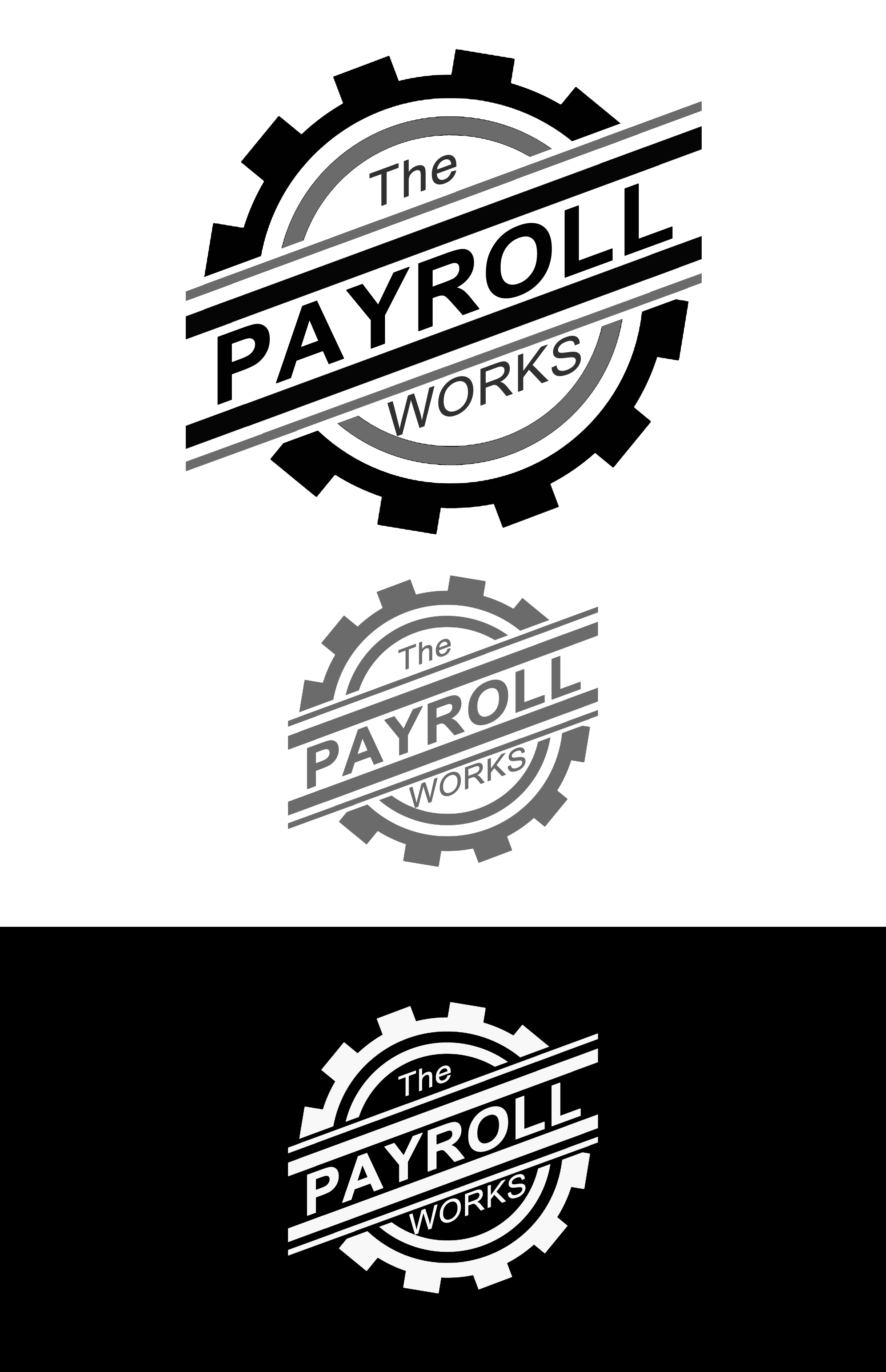 Logo Design by JSDESIGNGROUP - Entry No. 86 in the Logo Design Contest Captivating Logo Design for The Payroll Works.