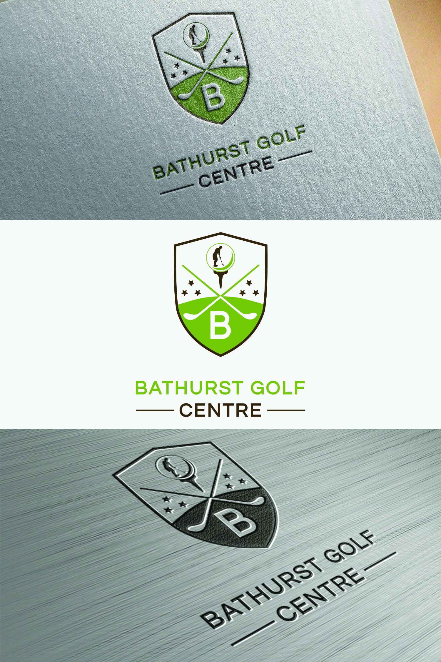 Logo Design by Umair ahmed Iqbal - Entry No. 43 in the Logo Design Contest Inspiring Logo Design for Bathurst Golf Centre.