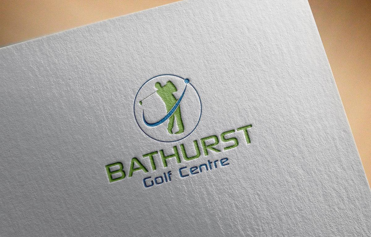 Logo Design by Private User - Entry No. 51 in the Logo Design Contest Inspiring Logo Design for Bathurst Golf Centre.