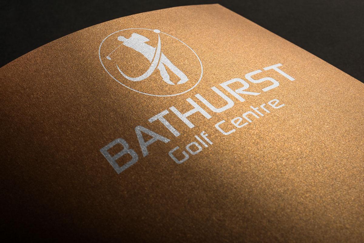 Logo Design by Private User - Entry No. 53 in the Logo Design Contest Inspiring Logo Design for Bathurst Golf Centre.