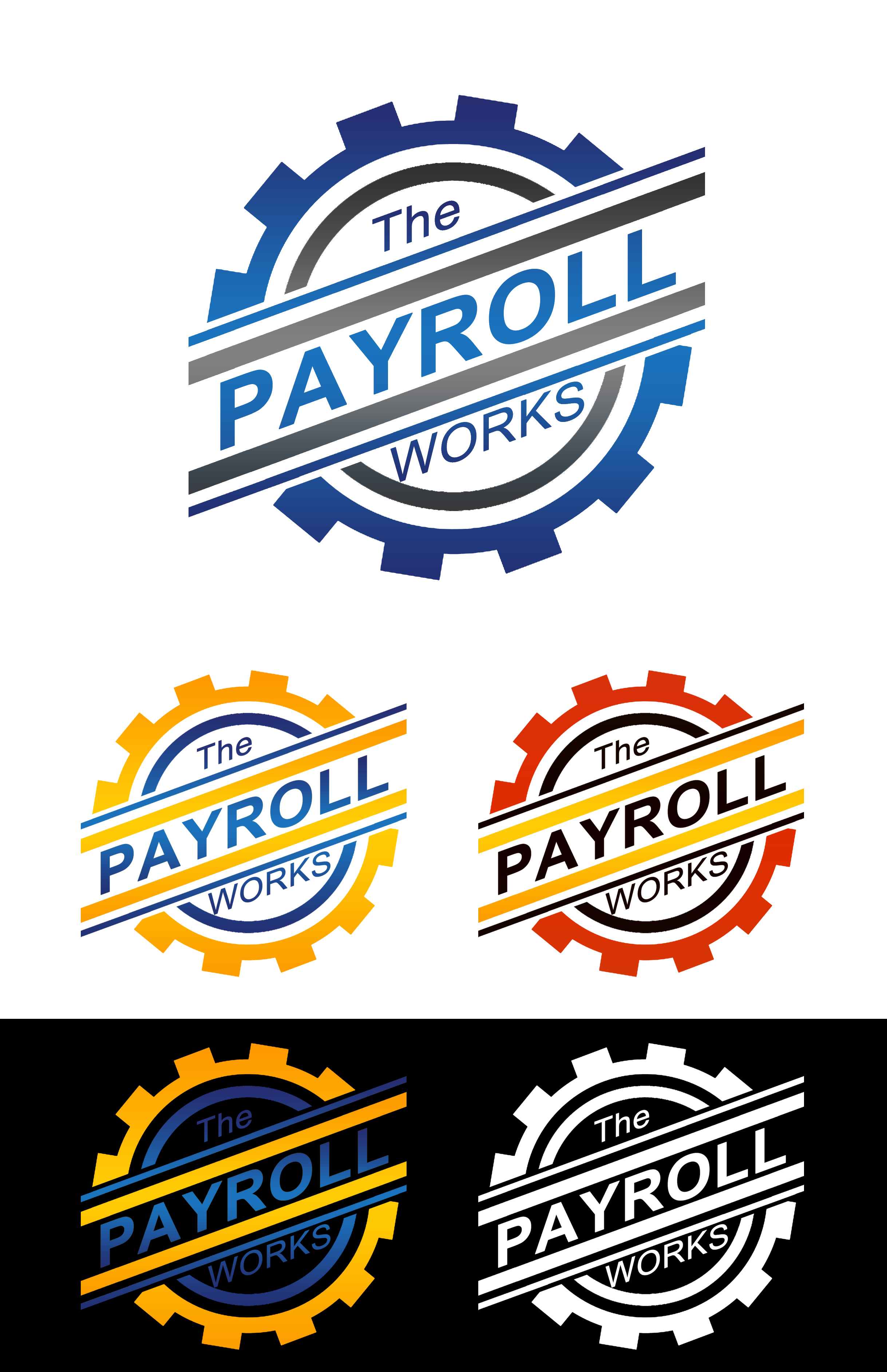 Logo Design by JSDESIGNGROUP - Entry No. 94 in the Logo Design Contest Captivating Logo Design for The Payroll Works.