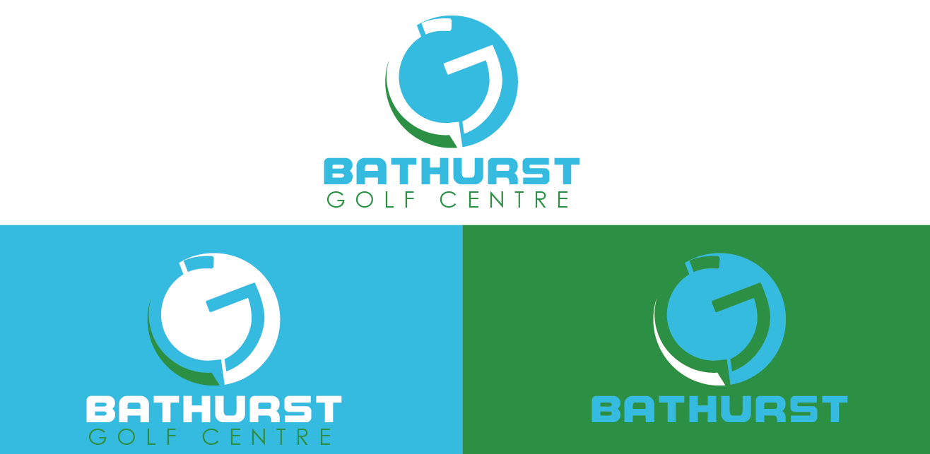 Logo Design by Moeed Khan - Entry No. 57 in the Logo Design Contest Inspiring Logo Design for Bathurst Golf Centre.