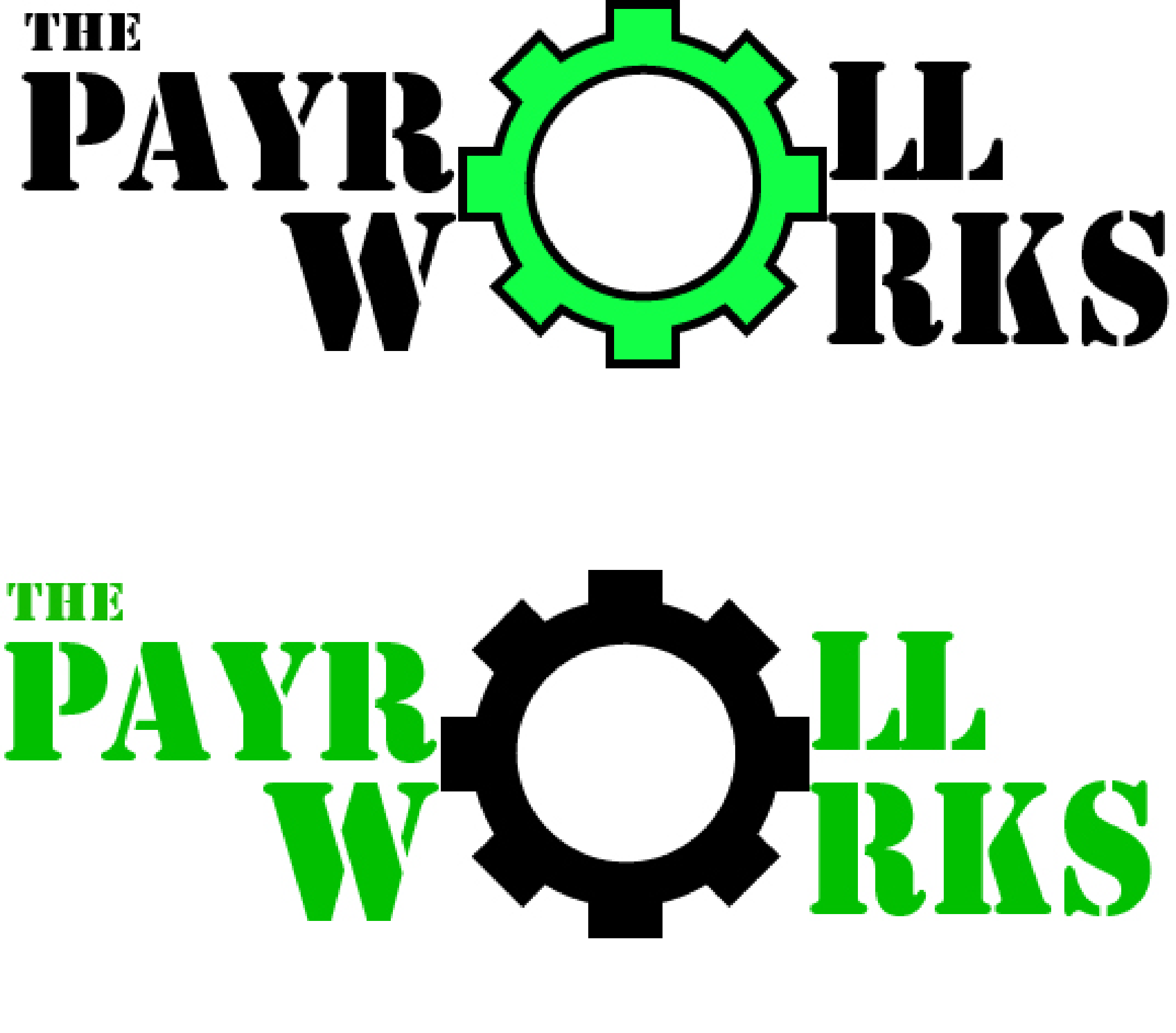 Logo Design by Inno - Entry No. 97 in the Logo Design Contest Captivating Logo Design for The Payroll Works.