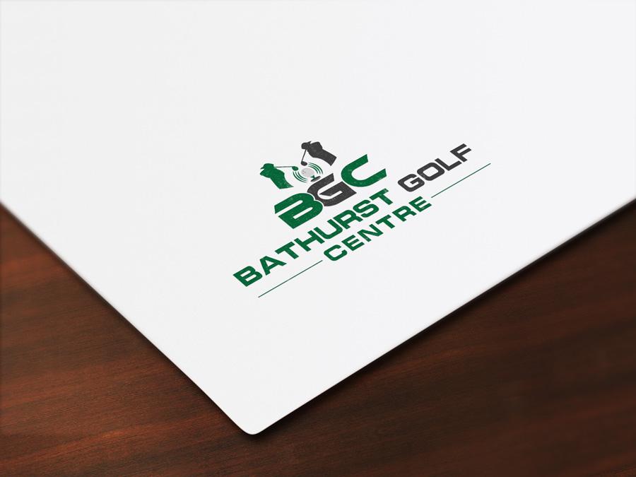 Logo Design by Imtaslim Taslima - Entry No. 60 in the Logo Design Contest Inspiring Logo Design for Bathurst Golf Centre.