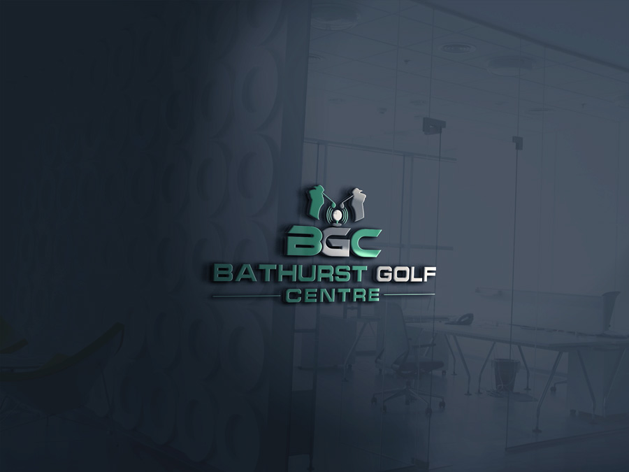 Logo Design by Imtaslim Taslima - Entry No. 62 in the Logo Design Contest Inspiring Logo Design for Bathurst Golf Centre.