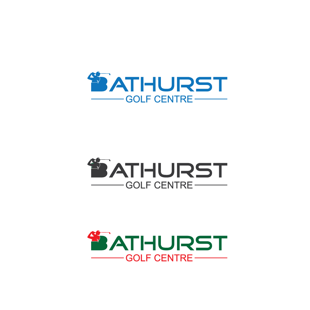 Logo Design by Imtaslim Taslima - Entry No. 64 in the Logo Design Contest Inspiring Logo Design for Bathurst Golf Centre.