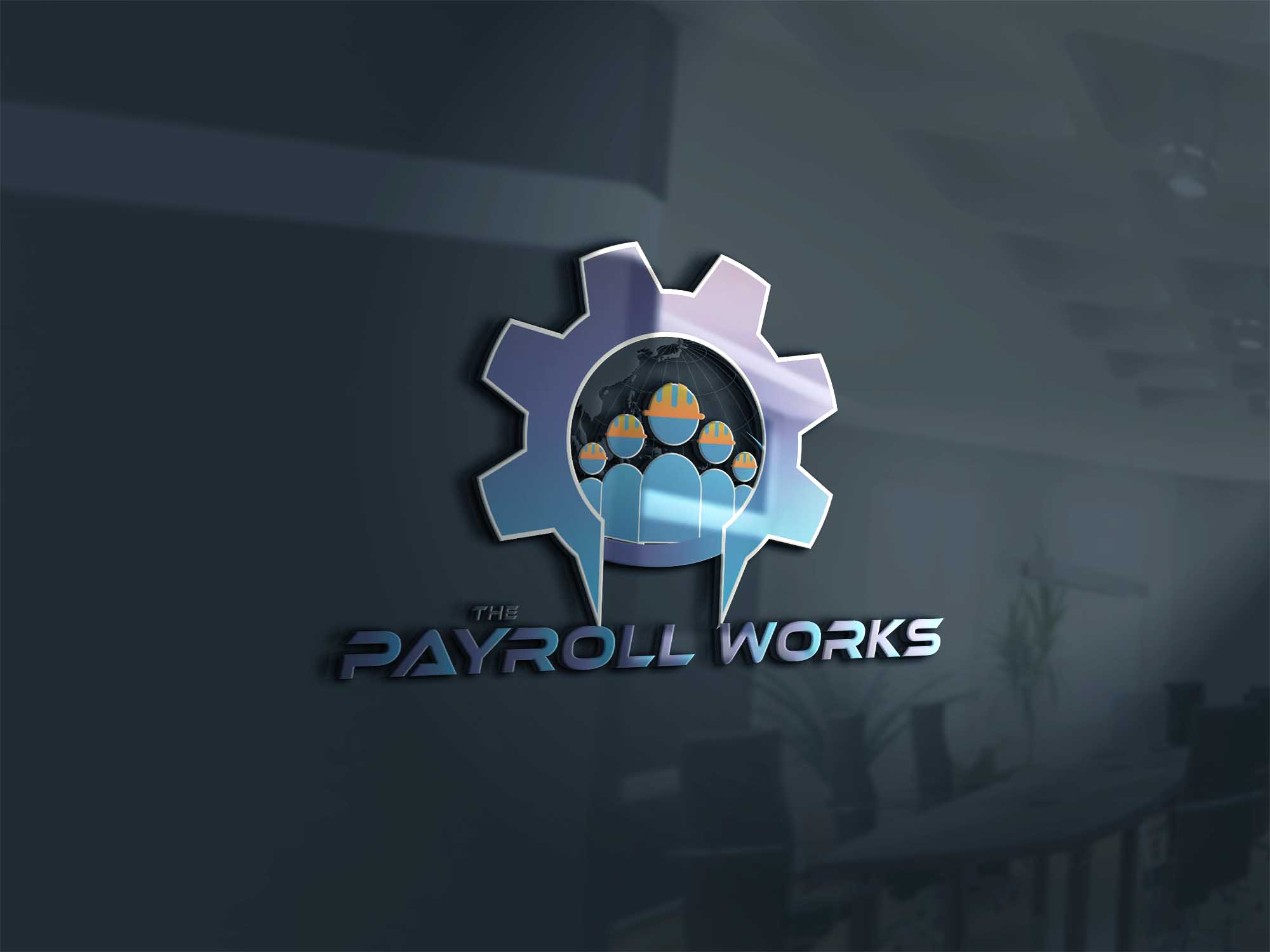 Logo Design by Private User - Entry No. 113 in the Logo Design Contest Captivating Logo Design for The Payroll Works.