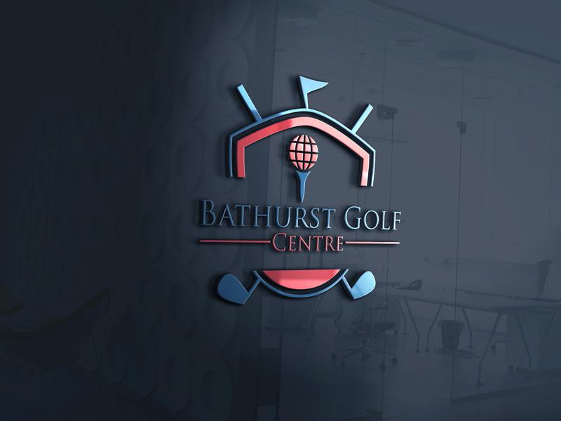 Logo Design by Md Harun Or Rashid - Entry No. 78 in the Logo Design Contest Inspiring Logo Design for Bathurst Golf Centre.
