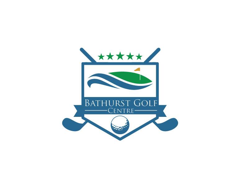 Logo Design by Md Harun Or Rashid - Entry No. 79 in the Logo Design Contest Inspiring Logo Design for Bathurst Golf Centre.