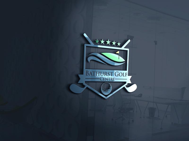 Logo Design by Md Harun Or Rashid - Entry No. 80 in the Logo Design Contest Inspiring Logo Design for Bathurst Golf Centre.