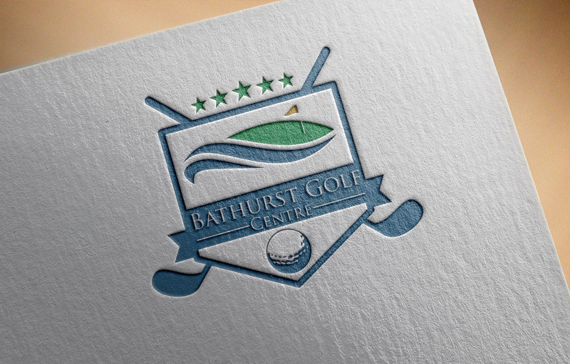 Logo Design by Md Harun Or Rashid - Entry No. 81 in the Logo Design Contest Inspiring Logo Design for Bathurst Golf Centre.