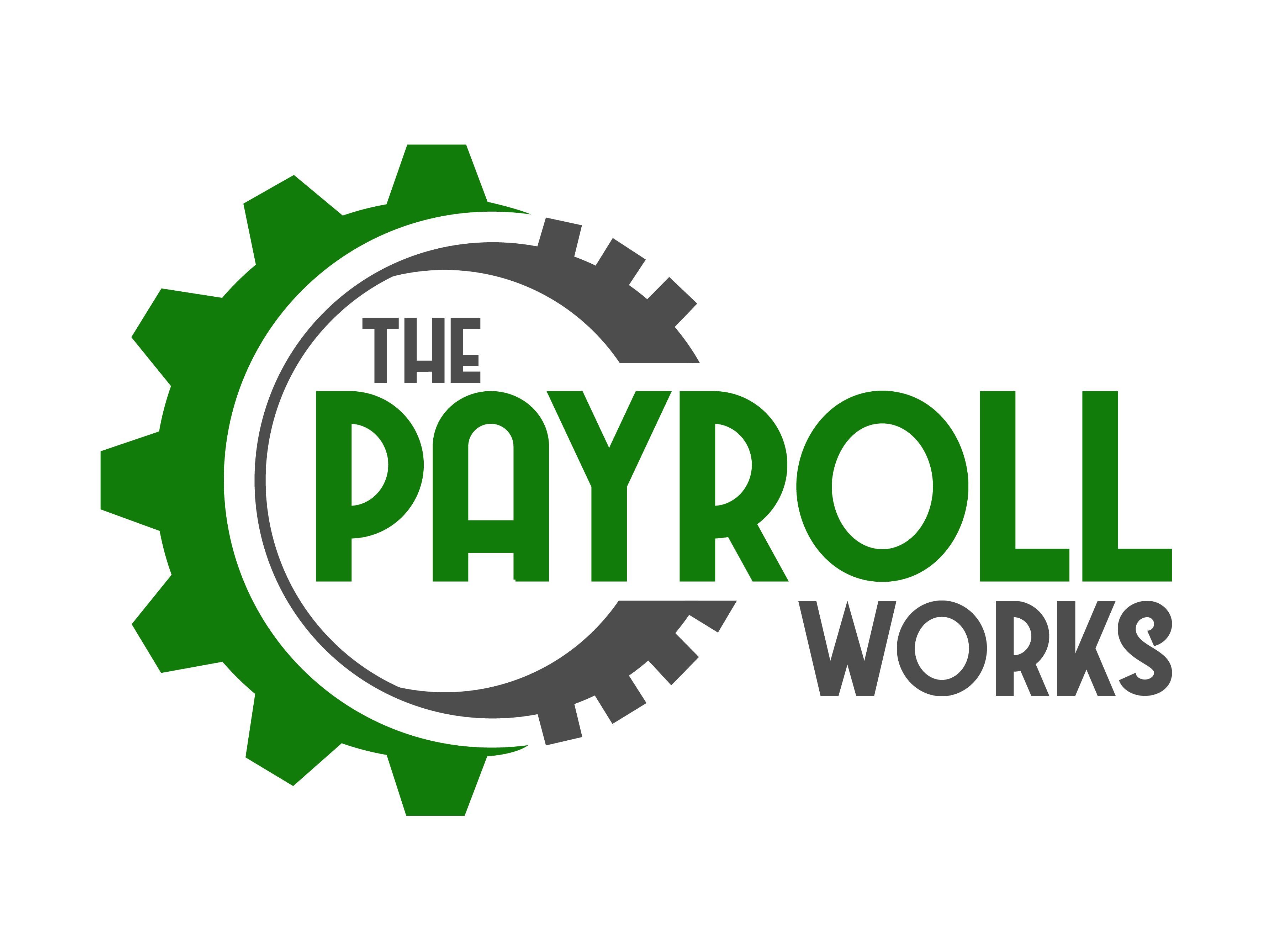 Logo Design by Rob King - Entry No. 122 in the Logo Design Contest Captivating Logo Design for The Payroll Works.