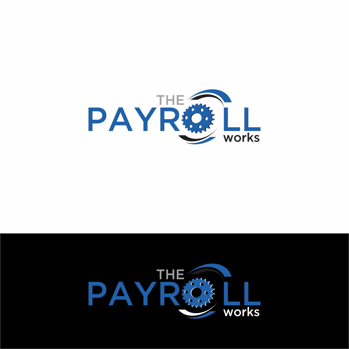 Logo Design by RasYa Muhammad Athaya - Entry No. 123 in the Logo Design Contest Captivating Logo Design for The Payroll Works.