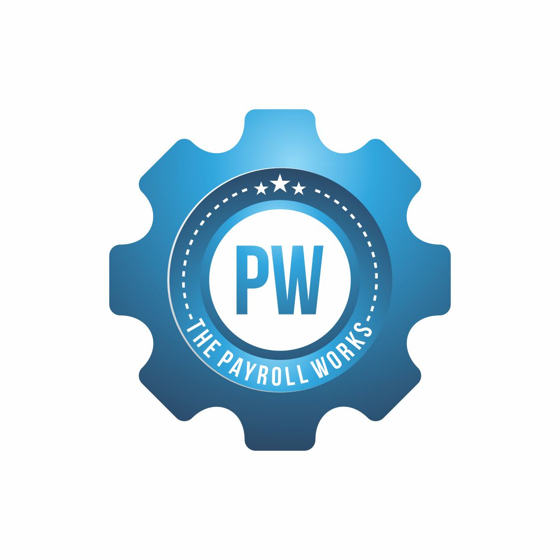 Logo Design by RasYa Muhammad Athaya - Entry No. 125 in the Logo Design Contest Captivating Logo Design for The Payroll Works.