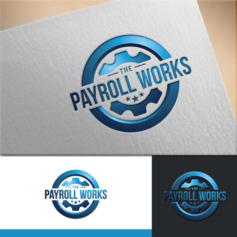 Logo Design by RasYa Muhammad Athaya - Entry No. 126 in the Logo Design Contest Captivating Logo Design for The Payroll Works.