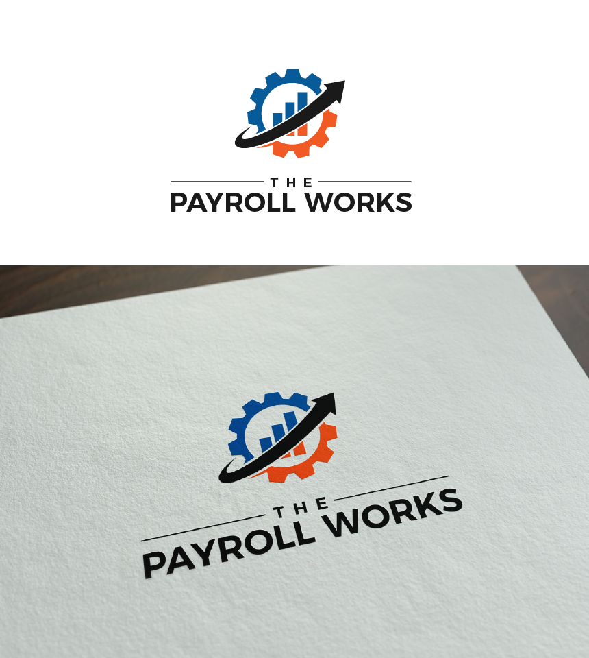 Logo Design by Juan Luna - Entry No. 127 in the Logo Design Contest Captivating Logo Design for The Payroll Works.