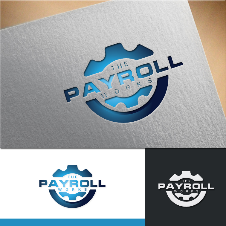 Logo Design by RasYa Muhammad Athaya - Entry No. 128 in the Logo Design Contest Captivating Logo Design for The Payroll Works.