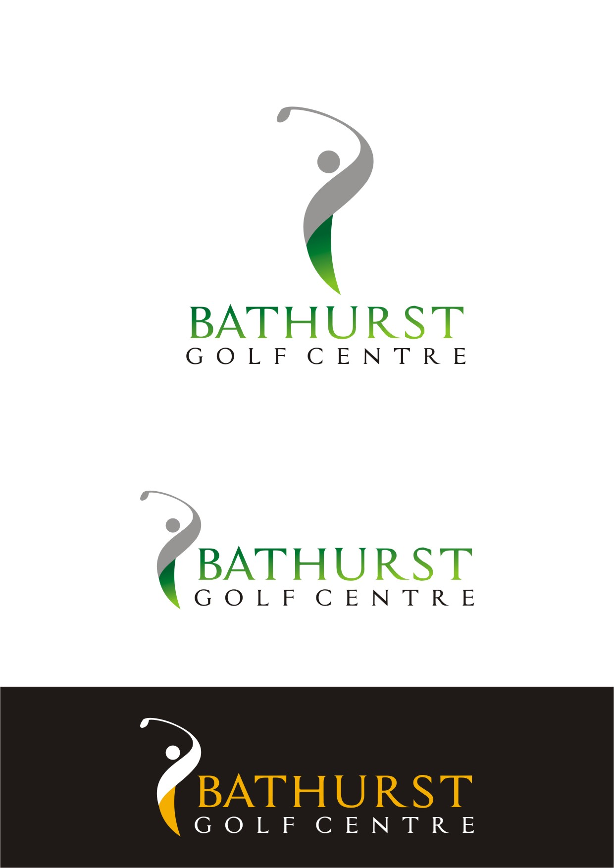 Logo Design by Spider Graphics - Entry No. 96 in the Logo Design Contest Inspiring Logo Design for Bathurst Golf Centre.