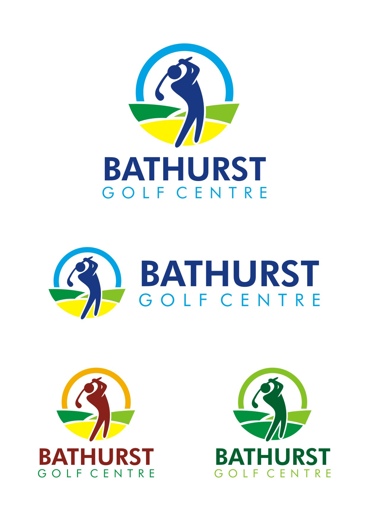 Logo Design by Spider Graphics - Entry No. 97 in the Logo Design Contest Inspiring Logo Design for Bathurst Golf Centre.