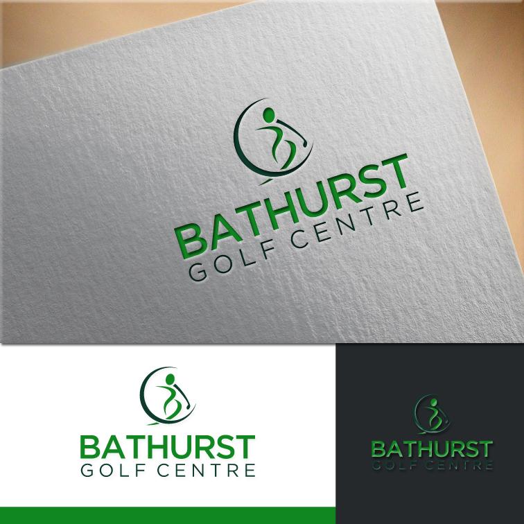 Logo Design by RasYa Muhammad Athaya - Entry No. 98 in the Logo Design Contest Inspiring Logo Design for Bathurst Golf Centre.