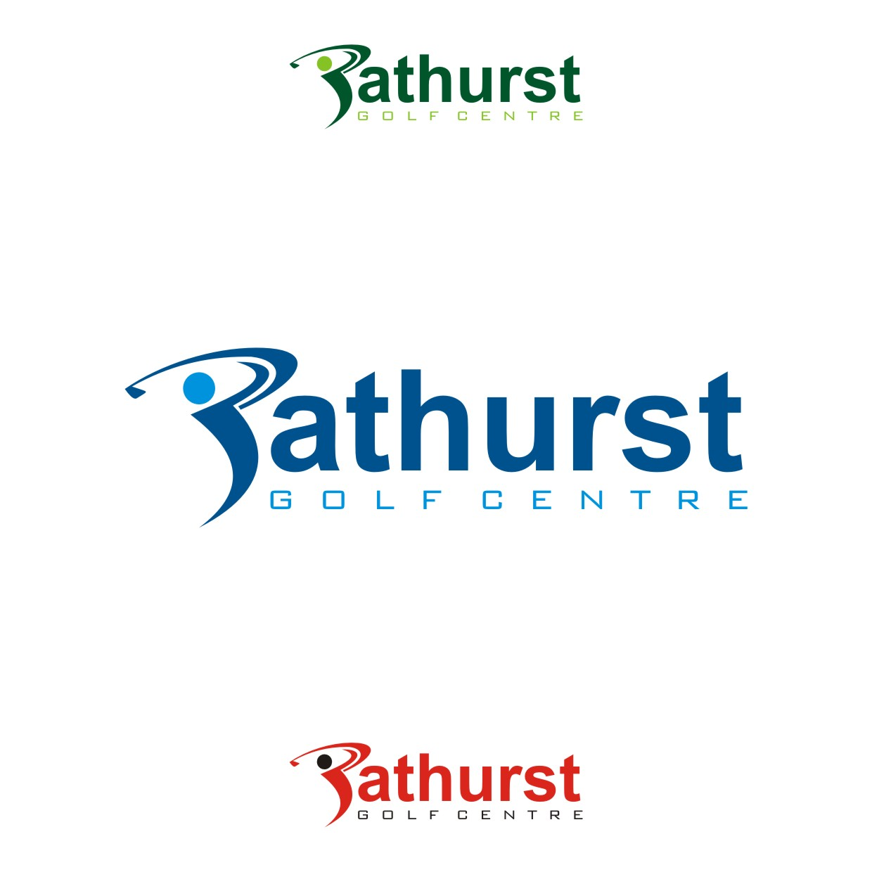 Logo Design by Spider Graphics - Entry No. 100 in the Logo Design Contest Inspiring Logo Design for Bathurst Golf Centre.