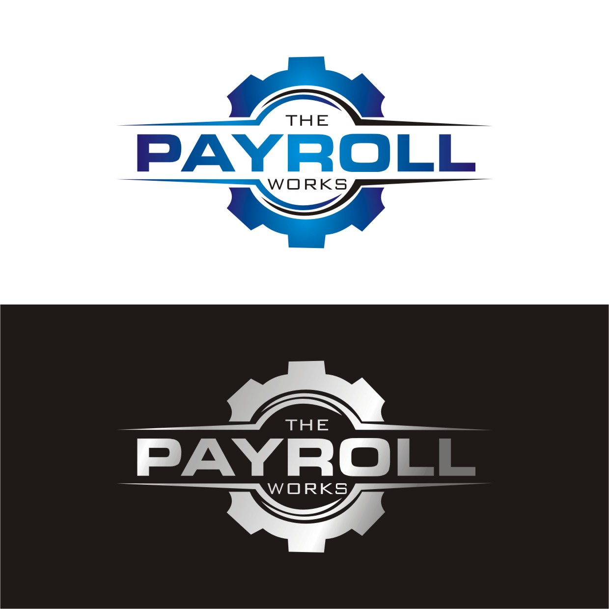 Logo Design by Spider Graphics - Entry No. 130 in the Logo Design Contest Captivating Logo Design for The Payroll Works.