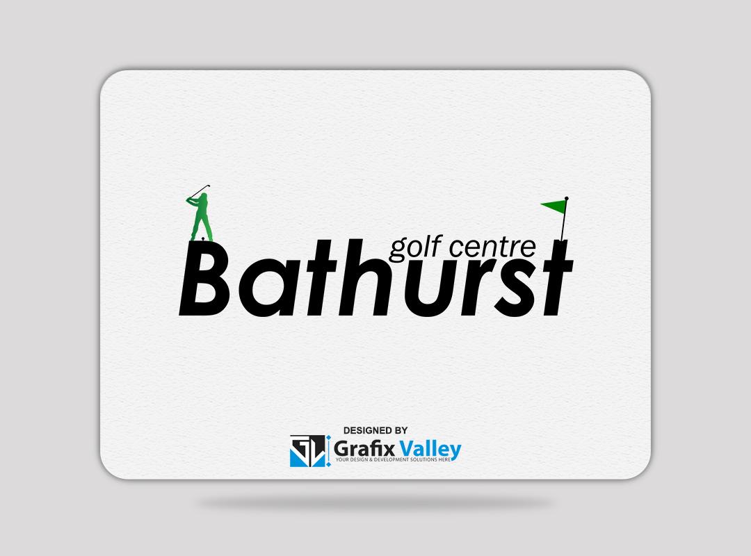 Logo Design by Mr Aurangzeb - Entry No. 101 in the Logo Design Contest Inspiring Logo Design for Bathurst Golf Centre.