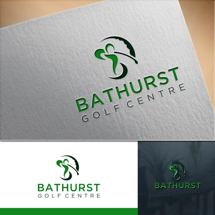 Logo Design by RasYa Muhammad Athaya - Entry No. 103 in the Logo Design Contest Inspiring Logo Design for Bathurst Golf Centre.