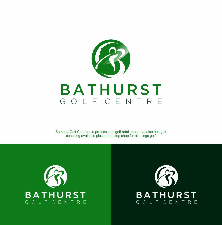 Logo Design by RasYa Muhammad Athaya - Entry No. 107 in the Logo Design Contest Inspiring Logo Design for Bathurst Golf Centre.