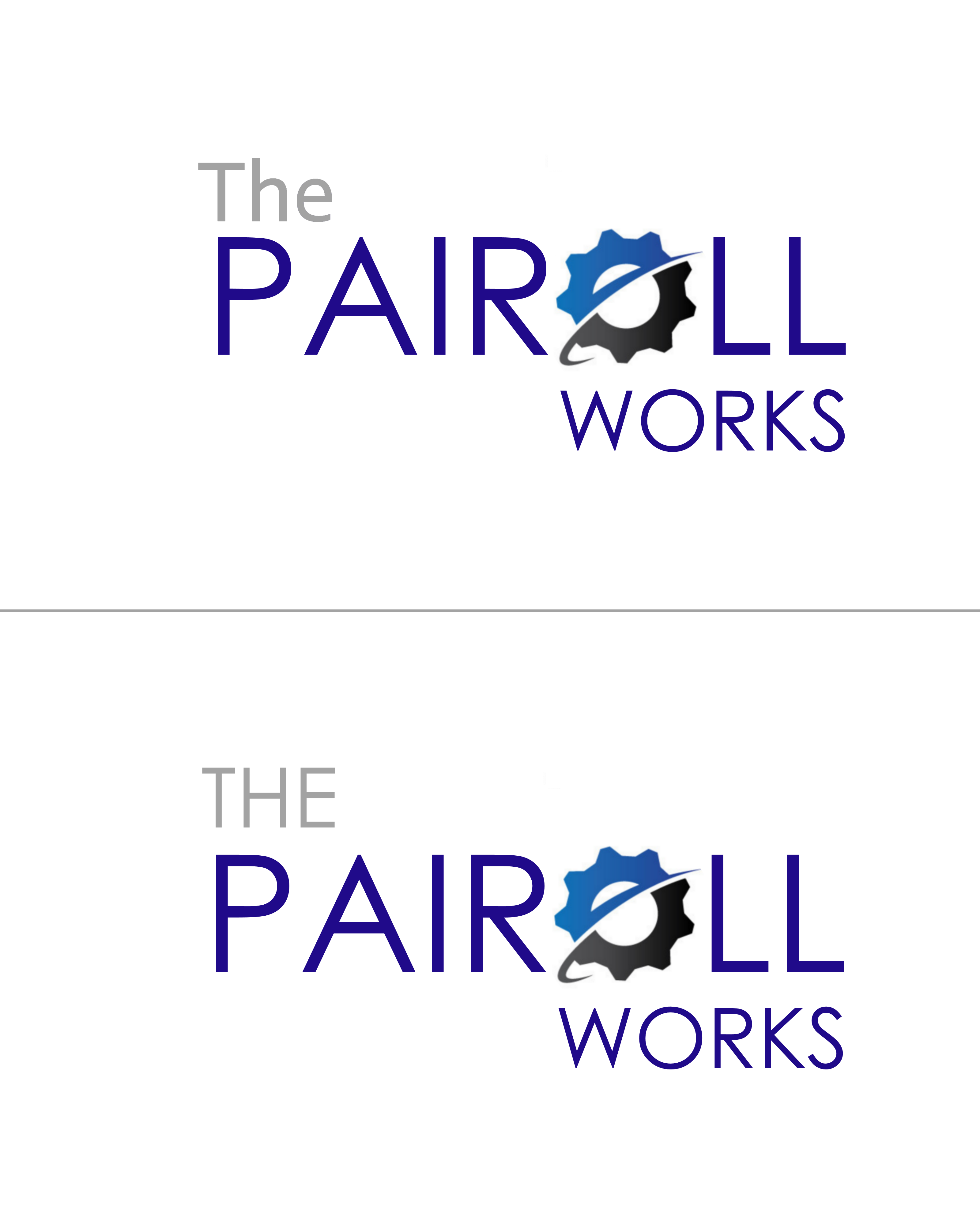Logo Design by Roberto Bassi - Entry No. 136 in the Logo Design Contest Captivating Logo Design for The Payroll Works.