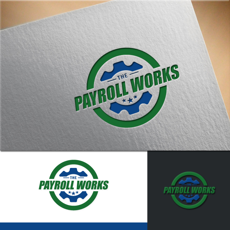 Logo Design by RasYa Muhammad Athaya - Entry No. 148 in the Logo Design Contest Captivating Logo Design for The Payroll Works.