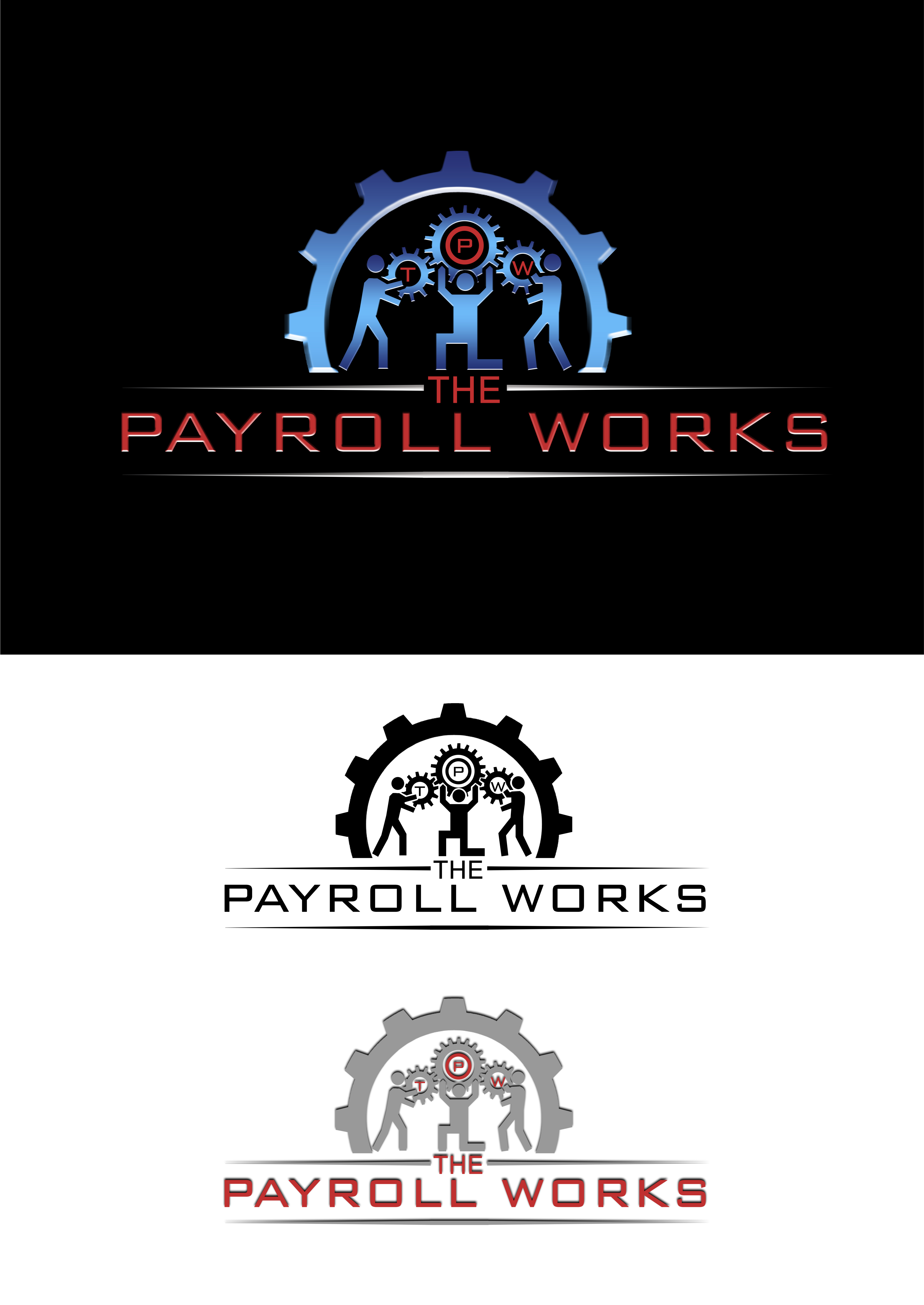 Logo Design by JSDESIGNGROUP - Entry No. 153 in the Logo Design Contest Captivating Logo Design for The Payroll Works.