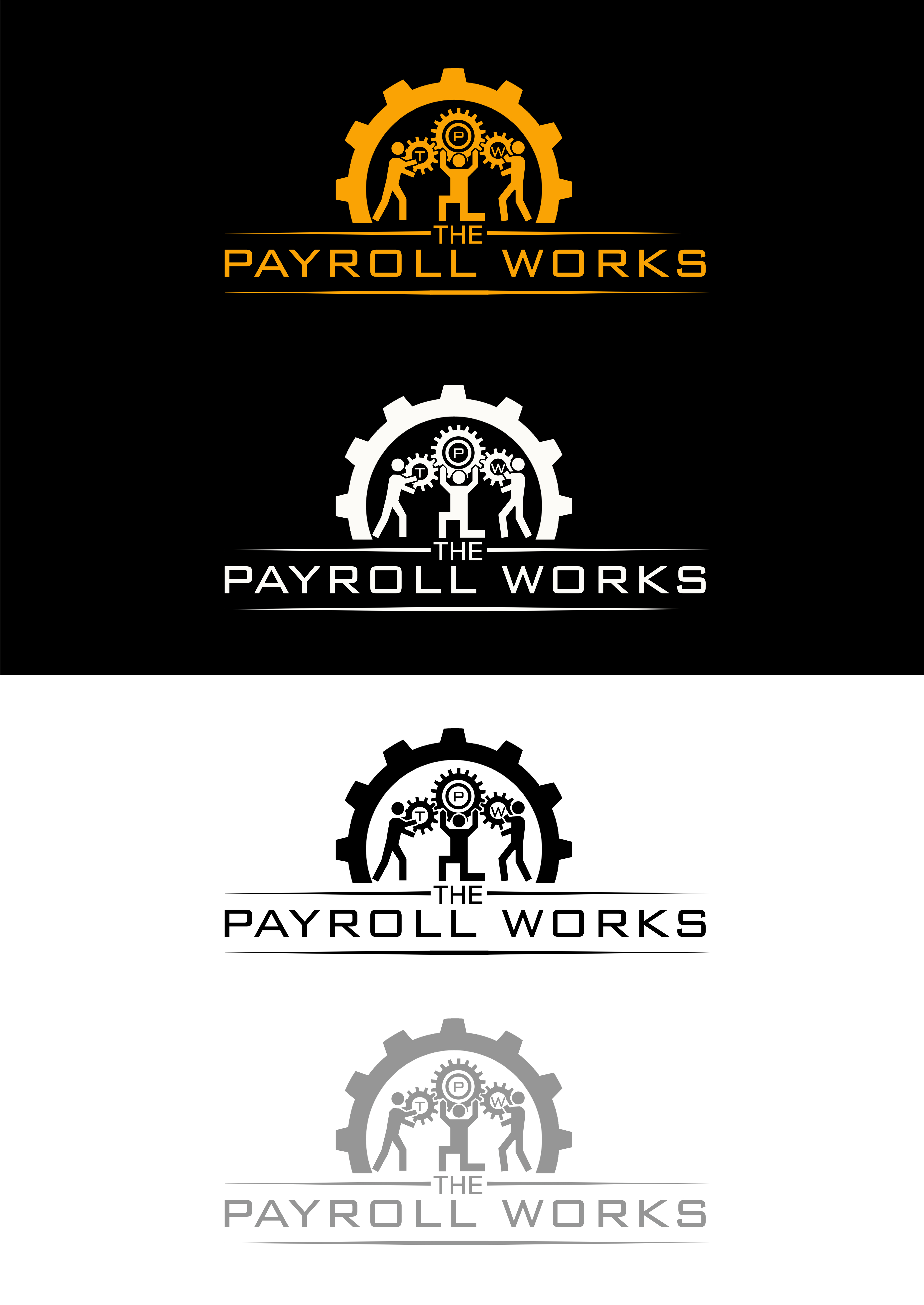 Logo Design by JSDESIGNGROUP - Entry No. 154 in the Logo Design Contest Captivating Logo Design for The Payroll Works.