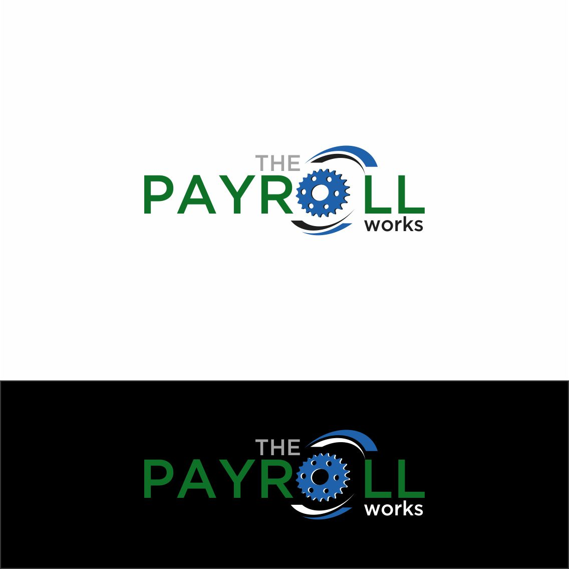 Logo Design by RasYa Muhammad Athaya - Entry No. 159 in the Logo Design Contest Captivating Logo Design for The Payroll Works.