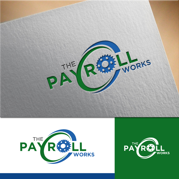 Logo Design by RasYa Muhammad Athaya - Entry No. 163 in the Logo Design Contest Captivating Logo Design for The Payroll Works.