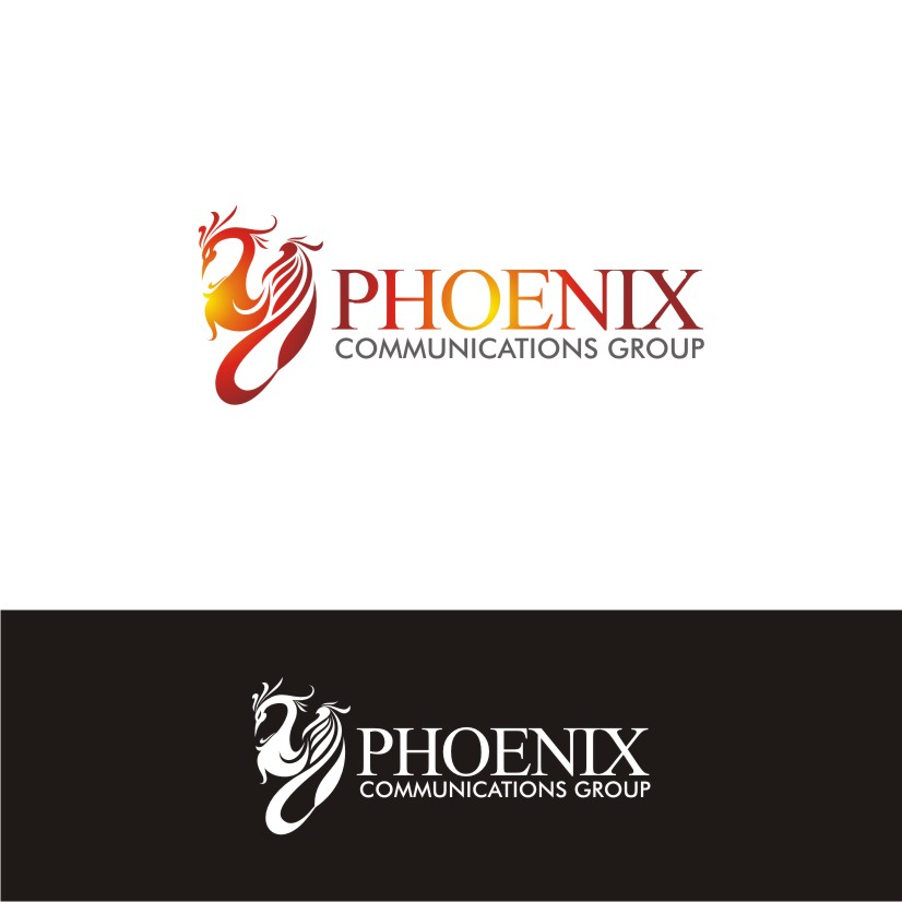 Logo Design by dbijak - Entry No. 3 in the Logo Design Contest Phoenix Communications Group.