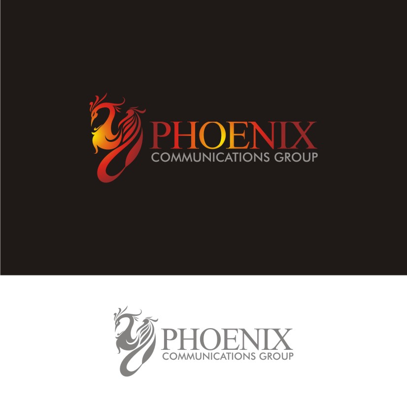 Logo Design by dbijak - Entry No. 4 in the Logo Design Contest Phoenix Communications Group.